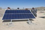 تامین روشنایی ۱۰ خانوار عشایر زرآباد با پنل خورشیدی