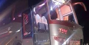 انحراف اتوبوس در محور سمنان - دامغان با ۳ مصدوم