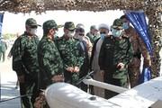 تصاویر | رونمایی پهپادهای عمود پرواز برای نخستین بار | تجهیزات جدید سپاه را ببینید