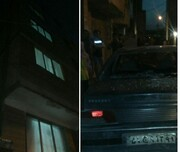 سقوط عجیب کودک هفتساله از بالکن خانه روی سقف یک خودرو