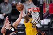 لیکرز در یک قدمی قهرمانی کنفرانس غرب NBA
