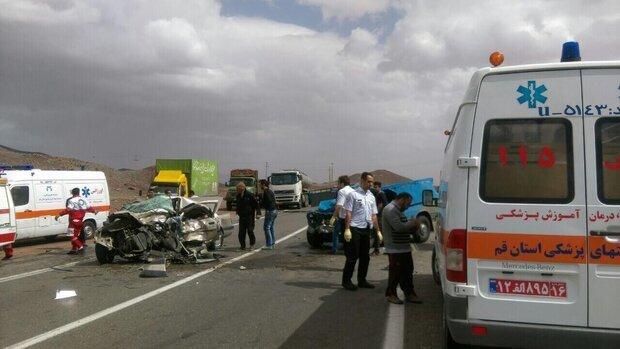 حضور اورژانس در حادثه رانندگی