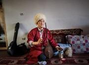 یکی از بخشیهای ترکمن درگذشت