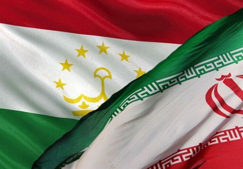 پرچم ایران و تاجیکستان