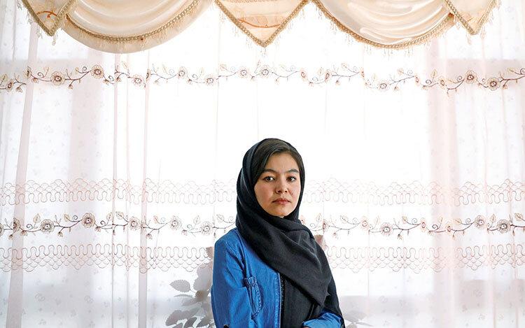 شمسیه علیزاده نفر اول کنکور افغانستان