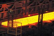 تولید شمش فوق سنگین فولادی در مجتمع صنعتی اسفراین