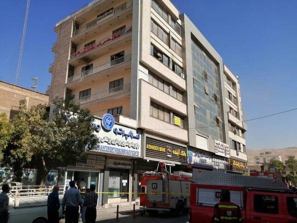 آتشسوزی در شیراز