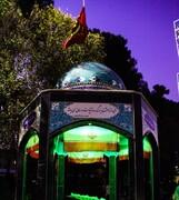 ویژه برنامه چهلچراغ در گلزار شهدای گمنام دانشگاه افسری امام علی (ع)