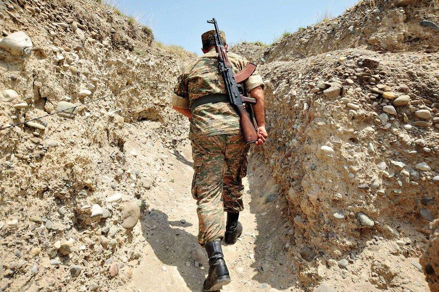 جنگ - سرباز - قرهباغ