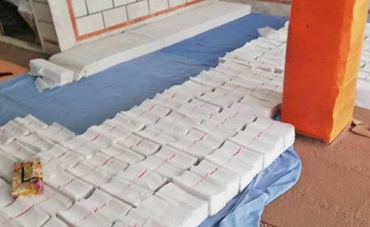 كارگاه توليد دستمال كاغذي غير بهداشتي در ابهر