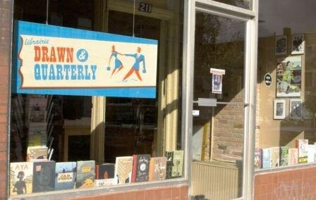 کتابفروشی دراون اند کورترلی