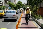 افتتاح مسیر دوچرخهسواری محله زمزم