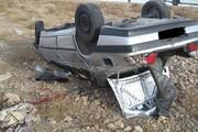 واژگونی خودرو حامل ۱۳ مهاجر غیرقانونی در جاده شهرضا