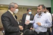 رعایت حجاب به احترام سخنگوی شورای نگهبان! | حاشیههای بازدید کدخدایی از سریال دهنمکی