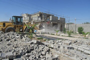 تخریب ۴۸ باغویلا در دزفول