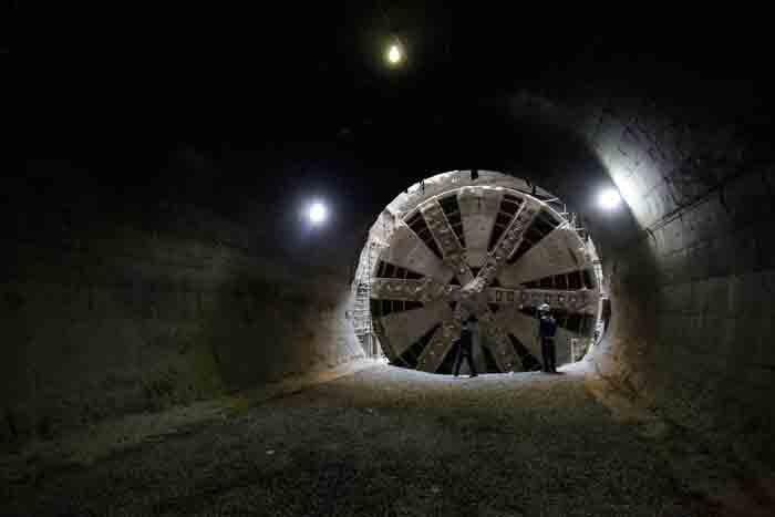 حفاري تونل مترو در ري شتاب گرفت