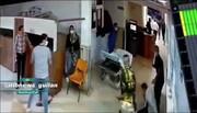 ویدئو | حمله به بیمارستانی در رشت با قمه