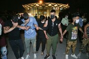 ویدئو | لحظه بازداشت اوباشِ پارک دانشجو در تهران | گردن اراذل را میشکنیم