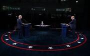 تصاویر | ترامپ، بایدن و حواشی نخستین مناظره انتخاباتی | حرکات عجیب ترامپ و بایدن در حضور همسرانشان