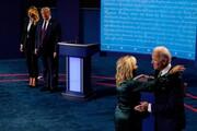 ویدئو |  تفاوت برخورد ترامپ و بایدن با همسرانشان  در مناظره شب گذشته