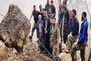فیلم | اهالی منجیر زیر آوار سنگهای غولپیکر | بیتوجهی مسئولان به روستای مهجور و محروم