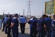 سریال اعتراض کارکنان این بار در نیروگاه آبادان