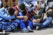 آزارگر زنان در میان ٩٠٠ تبهکار | شیوه زورگیری به روایت متهم | صدها سارق و زورگیر دستگیر شدند