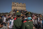 تصاویر | خوشگذرانی صدها میلیون چینی در اولین تعطیلات بزرگ پس از شیوع کرونا و قرنطینه