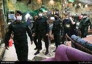 تصاویر | یورش پلیس به قهوهخانههای زیرزمینی که در اوج کرونا قلیان عرضه میکنند | چند نفر بازداشت شدند