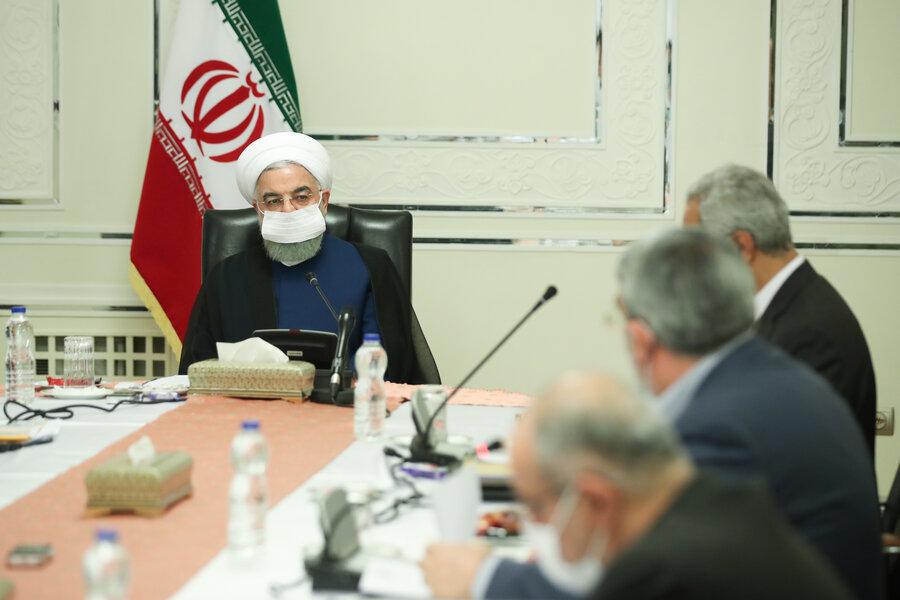 روحانی - کمیته های ستاد ملی کرونا