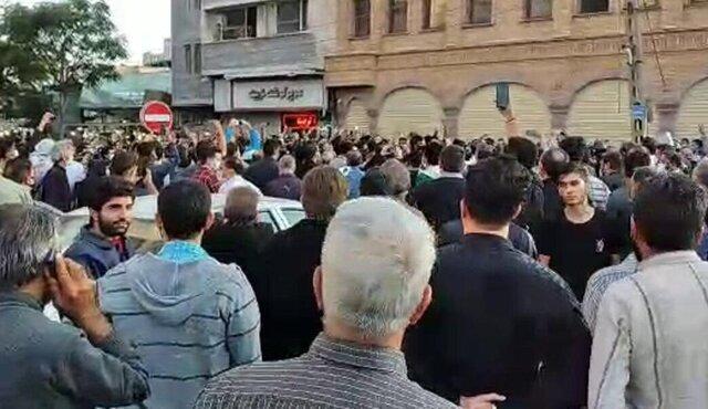 تجمع مردم تبریز