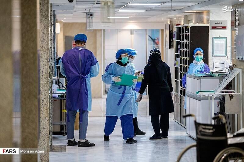 کرونا در آی سی یو بیمارستان امام خمینی