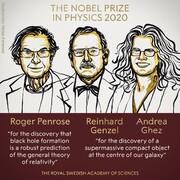 جایزه نوبل فیزیک به کاوشگران ماده تاریک و سیاهچالهها رسید