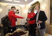 تصاویر | بدرقه تیم ملی فوتبال ایران برای بازی با ازبکستان