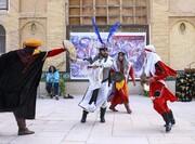 تصاویر   اجرای تعزیه در باغ دلگشا به مناسبت اربعین حسینی
