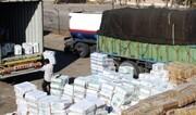 توقیف کامیون حامل لوازم یدکی قاچاق در کازرون
