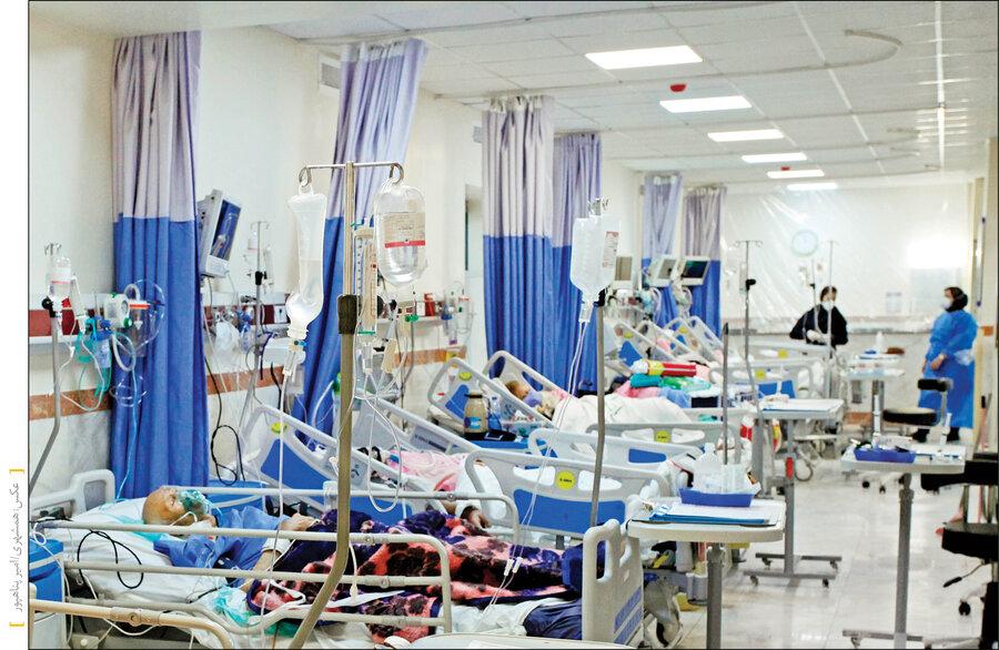 بیمارستان - کرونا