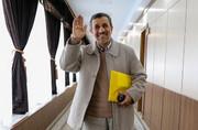 عکس | محمود احمدی نژاد در پیراهن تیم ملی نونهالان!