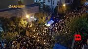 عکس | نمایی متفاوت از مقابل بیمارستان جم و حضور طرفداران استاد شجریان