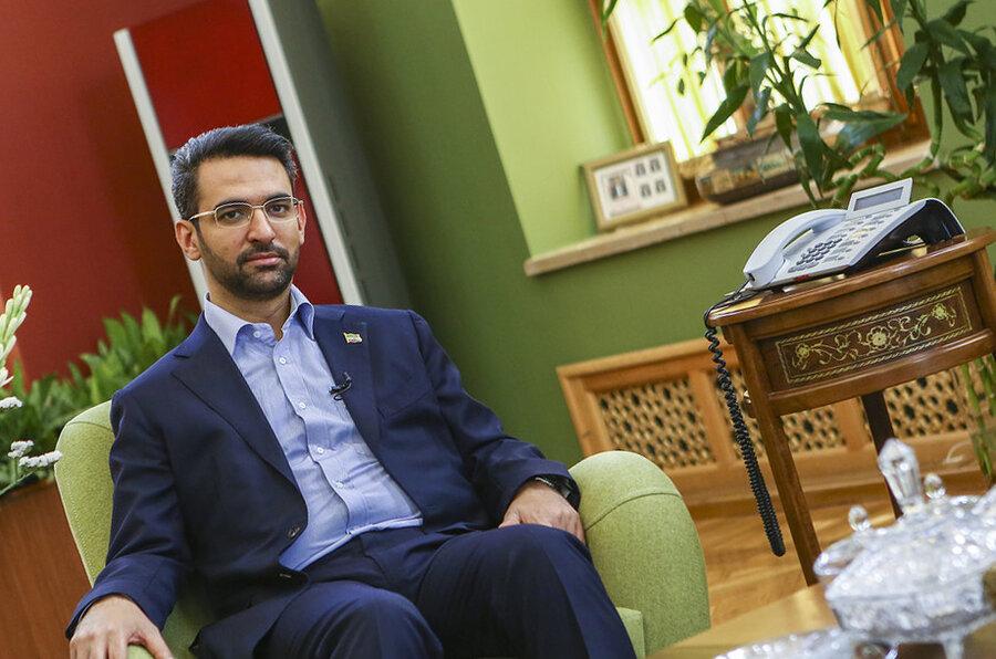 آذري جهرمي - وزير ارتباطات