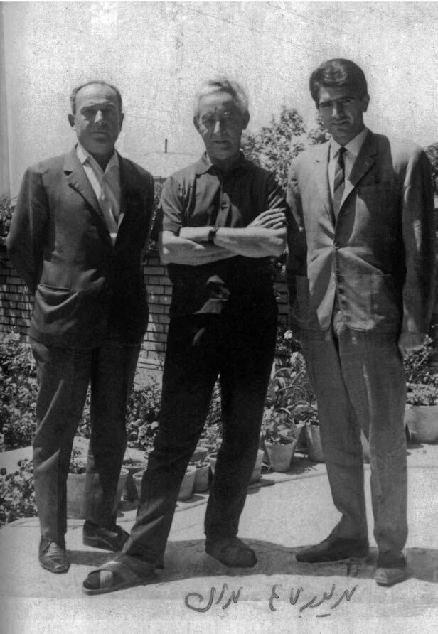 شجریان، احمد عبادی، لطفاللهی