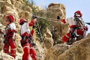 نجات جوان ٢۵ ساله از ارتفاعات گچان