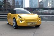 لوکا ؛ خودرویی که از مواد بازیافتی ساخته شده است