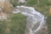 اراضی ماهدشت کرج در تهدید آبهای آلوده قرار گرفت