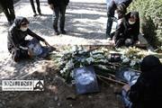 تصاویر جا مانده از مراسم خاکسپاری استاد شجریان ؛ خسرو آواز ایران