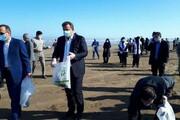 سواحل خزر از زباله پاک شد