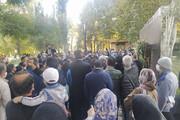 ادای احترام هزاران نفر در آرامگاه فردوسی به مرحوم استاد شجریان