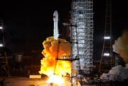 ماهواره چینی به مدار زمین رفت