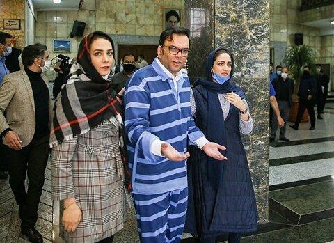 تصاویر چهارمین دادگاه به اتهامات محمد امامی