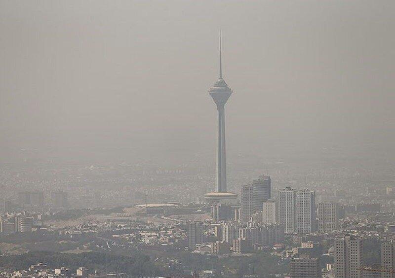 آلودگي هوا-تهران